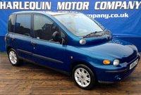 2004 FIAT MULTIPLA 1.9 ELX JTD 5d 114 BHP £1499.00