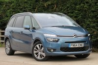 USED 2014 64 CITROEN C4 PICASSO 1.6 GRAND E-HDI AIRDREAM EXCLUSIVE PLUS 5d 113 BHP SAT NAV, PANORAMIC ROOF, REVERSE CAMERA, FINANCE AVAILABLE