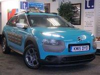 2015 CITROEN C4 CACTUS 1.2 PURETECH FEEL S/S 5d 109 BHP £7999.00