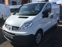 2011 RENAULT TRAFIC 2.0 SL27 DCI S/R 1d  £6399.00