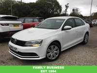 2015 VOLKSWAGEN JETTA 2.0 S TDI BLUEMOTION TECHNOLOGY 4d 109 BHP £9848.00