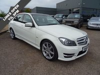 USED 2011 61 MERCEDES-BENZ C CLASS 2.1 C220 CDI BLUEEFFICIENCY SPORT ED125 4d AUTO 170 BHP Electronic  service history from Mercedes benz, 12 months MOT with sale & 1 Previous keeper
