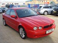 USED 2001 51 JAGUAR X-TYPE 2.5 V6 SPORT 4d 195 BHP