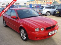2001 JAGUAR X-TYPE}