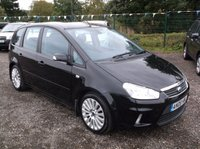 USED 2008 08 FORD C-MAX 2.0 TITANIUM 5d 136 BHP SPACIOUS  FAMILY CAR WITH EXCELLENT SERVICE HISTORY, GREAT SPEC, DRIVES SUPERBLY, OUTSTANDING VALUE !!!