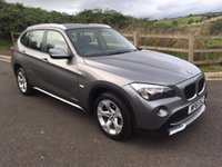 USED 2011 61 BMW X1 2.0 XDRIVE18D SE 5d 141 BHP ONE OWNER FROM NEW AND FULL BMW SERVICE HISTORY