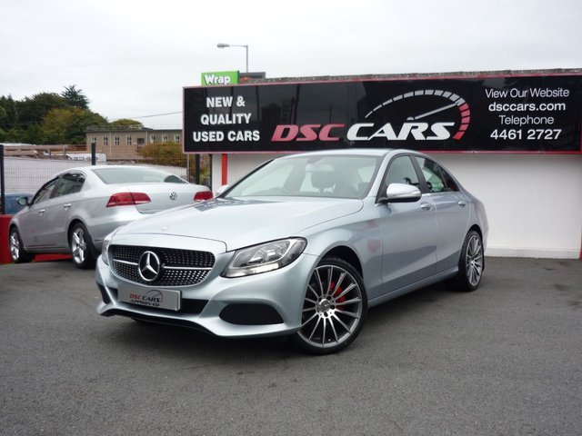 2014 64 MERCEDES-BENZ C CLASS 2.1 C220 BLUETEC SE EXECUTIVE 4dr AUTO 170 BHP