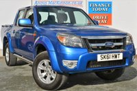 USED 2011 61 FORD RANGER 2.5 THUNDER 4X4 DCB TDCI 1d 143 BHP NO VAT ON THIS RANGER