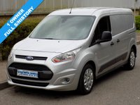 2014 FORD TRANSIT CONNECT TREND L2 1.6 TDCI T210 LWB LOW ROOF 95 BHP £7495.00