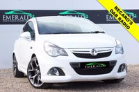 """USED 2013 63 VAUXHALL CORSA 1.6 VXR 3d 189 BHP **£0 DEPOSIT FINANCE AVAILABLE**SECURE WITH A £99 FULLY REFUNDABLE DEPOSIT** CD 30 MP3, DAB TUNER, 18"""" MACHINE FINISH ALLOYS, HALF LEATHER RECARO'S, CRUISE CONTROL, AUX IN, AIR CON, PRIVACY GLASS, ELECTRIC WINDOWS"""