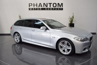 USED 2011 61 BMW 5 SERIES 3.0 530D M SPORT TOURING 5d AUTO 255 BHP