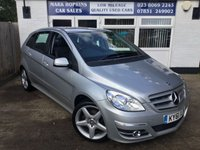 USED 2011 61 MERCEDES-BENZ B CLASS 2.0 B200 CDI SPORT 5d AUTO 140 BHP 27K FSH TWO OWNERS  HIGH SPEC MODEL 1/2 LEATHER SAT /NAV EXCELLENT CONDITION
