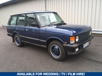 USED 1990 G LAND ROVER RANGE ROVER CLASSIC 3.9 V8 VOGUE FOR HIRE, WEDDING / PROM / FILM / TV 80s & 90s RETRO CLASSICS AVAILABLE FOR HIRE!