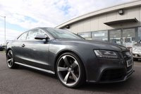 USED 2011 11 AUDI A5 4.2 RS5 FSI QUATTRO 2d AUTO 444 BHP LOW DEPOSIT OR NO DEPOSIT FINANCE AVAILABLE.