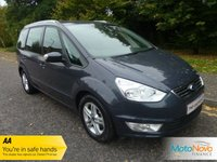 USED 2011 11 FORD GALAXY 2.0 ZETEC TDCI 5d 138 BHP GREAT VALUE SEVEN SEAT GALAXY DIESEL WITH ONE PREVIOUS LADY OWNER, AIR CONDITIONING AND ALLOY WHEELS