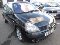 2004 RENAULT CLIO 1.1 DYNAMIQUE 16V 3d 75 BHP £999.00