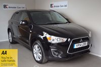 USED 2014 14 MITSUBISHI ASX 1.8 DI-D 4 5d 114 BHP Immaculate  - 4 Wheel Drive - Black Leather - Must Be Seen