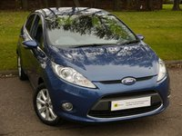 USED 2010 10 FORD FIESTA 1.2 ZETEC 5d 81 BHP IDEAL 1ST CAR*** 1 OWNER