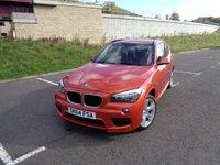 2014 BMW X1 2.0 XDRIVE18D M SPORT 5d 141 BHP £15495.00