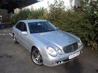 2005 MERCEDES-BENZ E CLASS 3.0 E320 CDI ELEGANCE 4d AUTO 222 BHP £3688.00