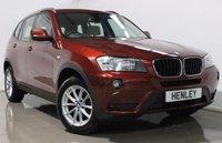 USED 2012 62 BMW X3 2.0 XDRIVE20D SE 5d AUTO 181 BHP