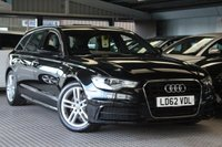 USED 2012 62 AUDI A6 2.0 AVANT TDI S LINE 5d 175 BHP FULL AUDI SERVICE HISTORY AND 1 OWNER FROM NEW