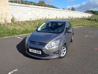 USED 2014 64 FORD C-MAX 1.0 ZETEC 5d 124 BHP LOW ROAD TAX!!