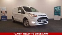 2015 FORD TRANSIT CONNECT 1.6 240 Limited 115 BHP . L2 Long Wheel Base Air Con, Bluetooth, 3 Seats, Ready to drive away . £12980.00
