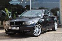2009 BMW 1 SERIES 2.0 120D SPORT 2d 175 BHP £7885.00