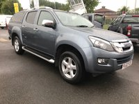 USED 2013 63 ISUZU D-MAX 2.5 TD UTAH AUTOMATIC VISION PRE-LOVED ISUZU D-MAX UTAH AUTO VISION 4X4 DOUBLE CAB PICK-UP * TOWS 3500Kgs