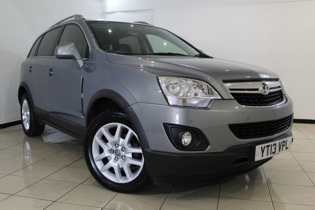 View our 2013 13 VAUXHALL ANTARA 2.2 EXCLUSIV CDTI 4WD S/S 5DR 161 BHP
