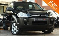 USED 2005 54 HYUNDAI TUCSON 2.0 GSI CRTD 4WD 5d 111 BHP