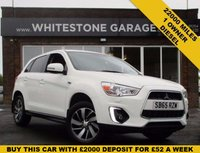 USED 2015 65 MITSUBISHI ASX 1.8 DI-D 3 5d 114 BHP ONE OWNER  LOW MILES STUNNING CONDITION