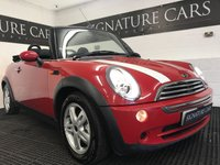 USED 2007 57 MINI CONVERTIBLE 1.6 COOPER 2d 114 BHP