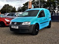 2010 VOLKSWAGEN CADDY 2.0 C20 PLUS SDI 5d  £4500.00