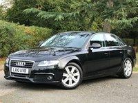 2010 AUDI A4 2.0 TDI E SE 4d 134 BHP £8495.00