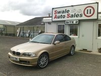 USED 2001 51 BMW 3 SERIES 2.0 318CI SE 2d 141 BHP FULL SERVICE HISTORY IN FANTASTIC CONDITION