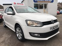 USED 2013 62 VOLKSWAGEN POLO 1.2 MATCH TDI 5d 74 BHP Low miles, Full VW history, 12 months MOT