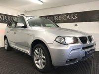 2006 BMW X3 2.0 I M SPORT 5d 148 BHP £5900.00