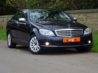 USED 2007 57 MERCEDES-BENZ C CLASS 2.1 C200 CDI ELEGANCE 4dr AUTO FSH LEATHER SEATS LOW MILES