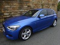 2014 BMW 1 SERIES 2.0 120D XDRIVE M SPORT 5d 181 BHP £14200.00