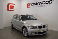 USED 2008 08 BMW 1 SERIES 2.0 118D M SPORT 5d 141 BHP  ELECTRIC HALF LEATHER SEATS