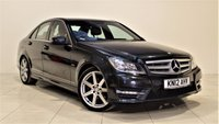 USED 2012 12 MERCEDES-BENZ C-CLASS 2.1 C220 CDI BLUEEFFICIENCY SPORT 4d AUTO 168 BHP + 1 PREV OWNER + SAT/NAV