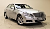 USED 2009 59 MERCEDES-BENZ E CLASS 2.1 E220 CDI BLUEEFFICIENCY SE 4d AUTO 170 BHP + 1 PREV OWNER + EXCELLENT CONDITION