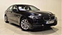 USED 2013 63 BMW 5 SERIES 2.0 520D SE 4d AUTO 181 BHP + SAT NAV + AIR CON + LEATHER SEATS