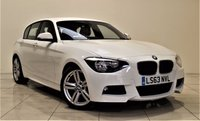 USED 2013 63 BMW 1 SERIES 2.0 116D M SPORT 5d 114 BHP + 1 OWNER +  SAT NAV + AUX + BLUETOOTH + RED LEATHER INTERIOR + MORE