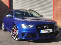 USED 2015 64 AUDI RS4 AVANT 4.2 FSI QUATTRO 5d S Tronic AUTO 444 BHP 1 OWNER CAR+JUST BEEN SERVICED