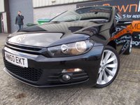 USED 2011 60 VOLKSWAGEN SCIROCCO 2.0 GT TDI DSG 3d AUTO 140 BHP Super condition, Brilliant Auto Box, No Fee Finance and No Depsoit Necessary