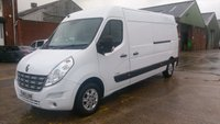 USED 2013 13 RENAULT MASTER 2.3 LM35 SPORT DCI S/R 1d 125 BHP 1 OWNER F/S/H 2 KEYS