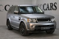 """USED 2009 59 LAND ROVER RANGE ROVER SPORT 3.0 TDV6 HSE 5d AUTO 245 BHP 22"""" STYLE 7 ALLOY WHEELS SAT NAV 3M GREY SATIN WRAP BUT IS WHITE UNDERNEATH SO CAN BE REMOVED IF DESIRED. DETAILED FULL SERVICE HISTORY INCLUDING TIMING BELT REPLACEMENT"""
